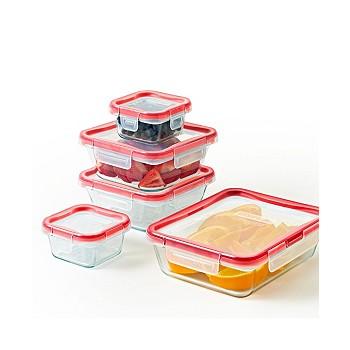 Pyrex Freshlock 10-Piece Food Storage Container Set