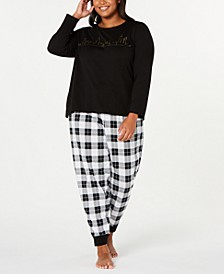 Plus Size Christmas Pajamas.Plus Size Christmas Pajamas Macy S