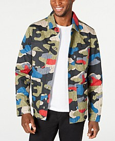 Men's Ledger Camo Jacket, Created for Macy's