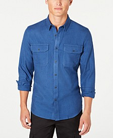 Men's Grindle Textured Shirt, Created for Macy's