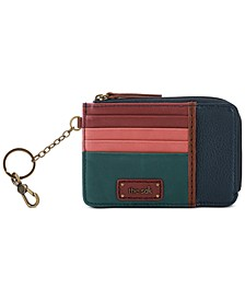 Iris Card Leather Wallet