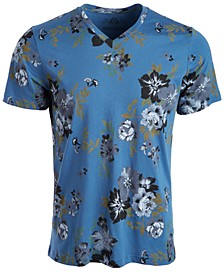 Men's Open Ground Floral T-Shirt, Created for Macy's