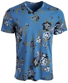 American Rag Men's Open Ground Floral T-Shirt, Created for Macy's