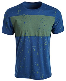 Men's Splatter Chest Stripe T-Shirt, Created for Macy's