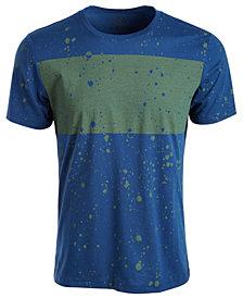 American Rag Men's Splatter Chest Stripe T-Shirt, Created for Macy's