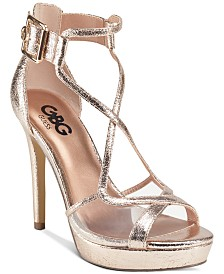 G by GUESS Javit Platform Dress Sandals