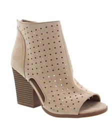 Rampage Vionna Perforated Booties