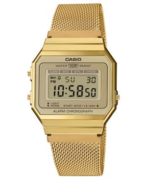 Unisex Gold-Tone Stainless Steel Mesh Bracelet Watch 35.5mm
