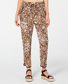 Juniors' Ruffled Tulip-Hem Soft Pants, Created for Macy's