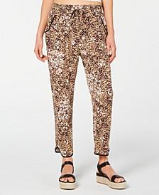 Juniors' Ruffled Tulip-Hem Soft Pants, Created for Macy's