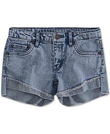 Levi's® Little Girls Step Up Shorty Denim Shorts