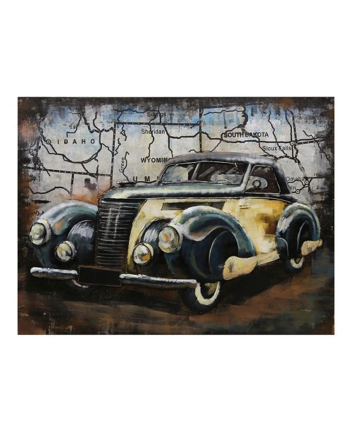 """Moe's Home Collection Big Fenders Wall Decor, 39.5"""" L x 29.5"""" W x 2"""" H"""
