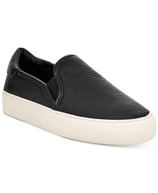 Women's Jass Leather Slip-On Sneakers