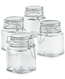 Martha Stewart Collection Mini Canisters, Set of 4, Created for Macy's