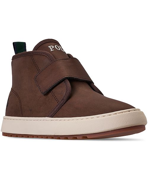 Polo Ralph Lauren Little Boys Owen EZ Stay-Put Closure Boots