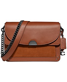 Mixed Leather Dreamer Shoulder Bag