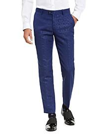 INC Men's ONYX Slim-Fit Oil Slick Pants, Created For Macy's