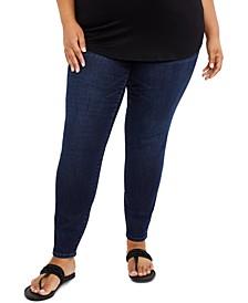 Jessica Simpson Maternity Plus Size Skinny Jeans