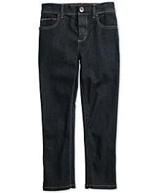 Big Boys Graham Straight Fit Jeans with Adjustable Waist & Hem