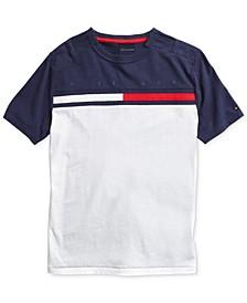 Little Boys T-Shirt with Adjustable Shoulder Closure