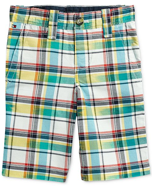 Tommy Hilfiger Little Boys Shorts with Adjustable Waist