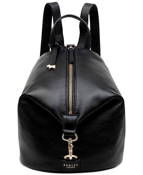 Radley London Zip Top Leather Backpack