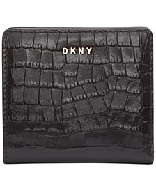 Bryant Croc-Embossed Leather Bifold Wallet, Created for Macy's