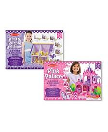 3D Puzzle Bundle - Dollhouse and Palace
