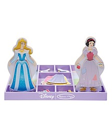 Sleeping Beauty & Snow White Wooden Magnetic Dress-Up