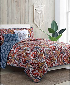 Bree 5-Piece Full/Queen Quilt Set