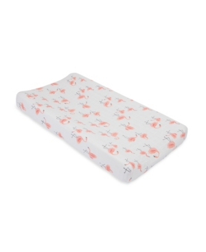 Little Unicorn Pink Ladies Cotton Muslin Changing Pad Cover