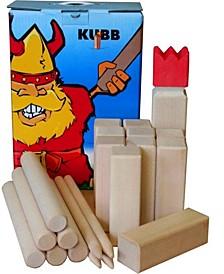 Kubb Solid Beechwood Outdoor Game Set