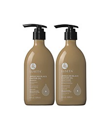 Luseta Beauty Jamaican Black Castor Oil Shampoo & Conditioner Set 33.8 Ounces