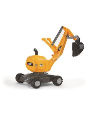 Rolly Toys Cat Digger for Outdoor Backyard Fun