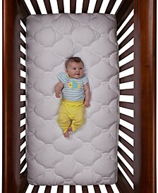 Standard Toddler and Crib Mattress Pad