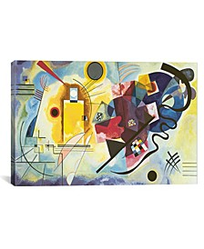 Gelb - Rot - Blau Yellow-Red-Blue, 1925 by Wassily Kandinsky Wrapped Canvas Print Collection