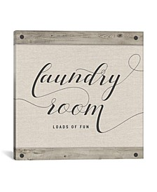 Laundry Room by Amanda Murray Wrapped Canvas Print Collection