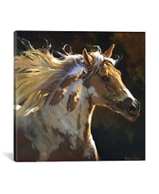 Spirit Horse by Carolyne Hawley Wrapped Canvas Print Collection