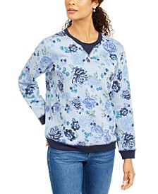 Sport Key Garden Fleece Sweatshirt, Created for Macy's