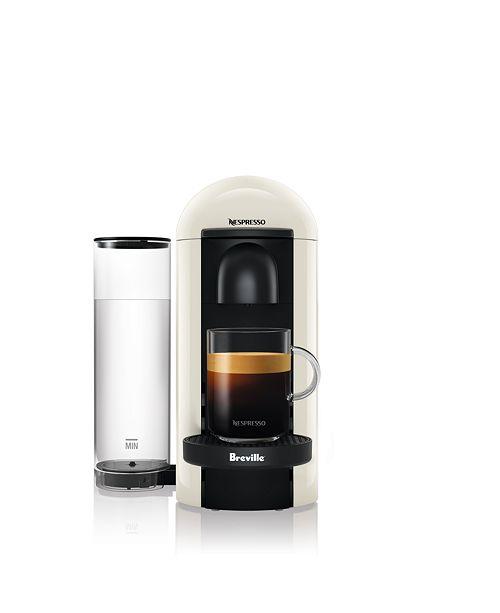 Nespresso by Breville Vertuo Plus White Coffee & Espresso Machine