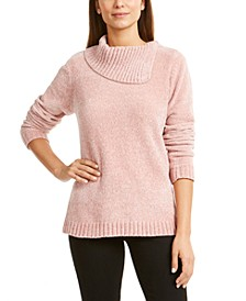 Cowlneck Chenille Sweater, Created for Macy's