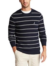 Nautica Men's Navtech Striped Sweater