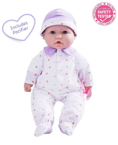 JC TOYS La Baby 16 inch Washable Soft Body Baby Doll with Accessories - For Children 12 Months and older, Designed by Berenguer.