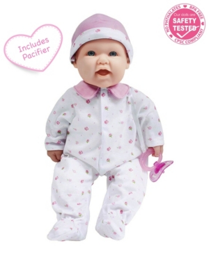 """Jc Toys, La Baby 16"""" Washable Soft Body Baby Doll With Accessories for Children 12 Months and Older, Designed by Berenguer"""