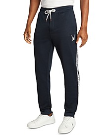 Men's Blue Sail French Terry Logo Joggers, Created for Macy's