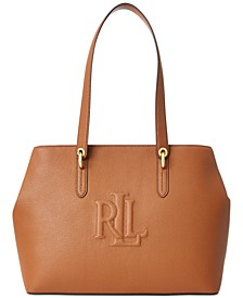 Pebbled Leather Highfield Tote