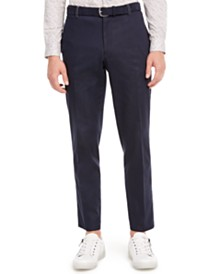 I.N.C. Men's Slim-Fit Contrast Stitch Pants, Created for Macy's