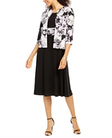 Jessica Howard Floral Dress & Jacket
