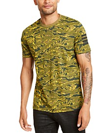 INC Men's Camo T-Shirt, Created for Macy's