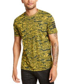 I.N.C. Men's Camo T-Shirt, Created for Macy's
